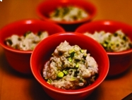 Rice Pudding with Cardamom & Pistachios