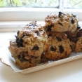 Oat & Blueberry Scones