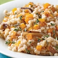 Butternut and Barley Pilaf